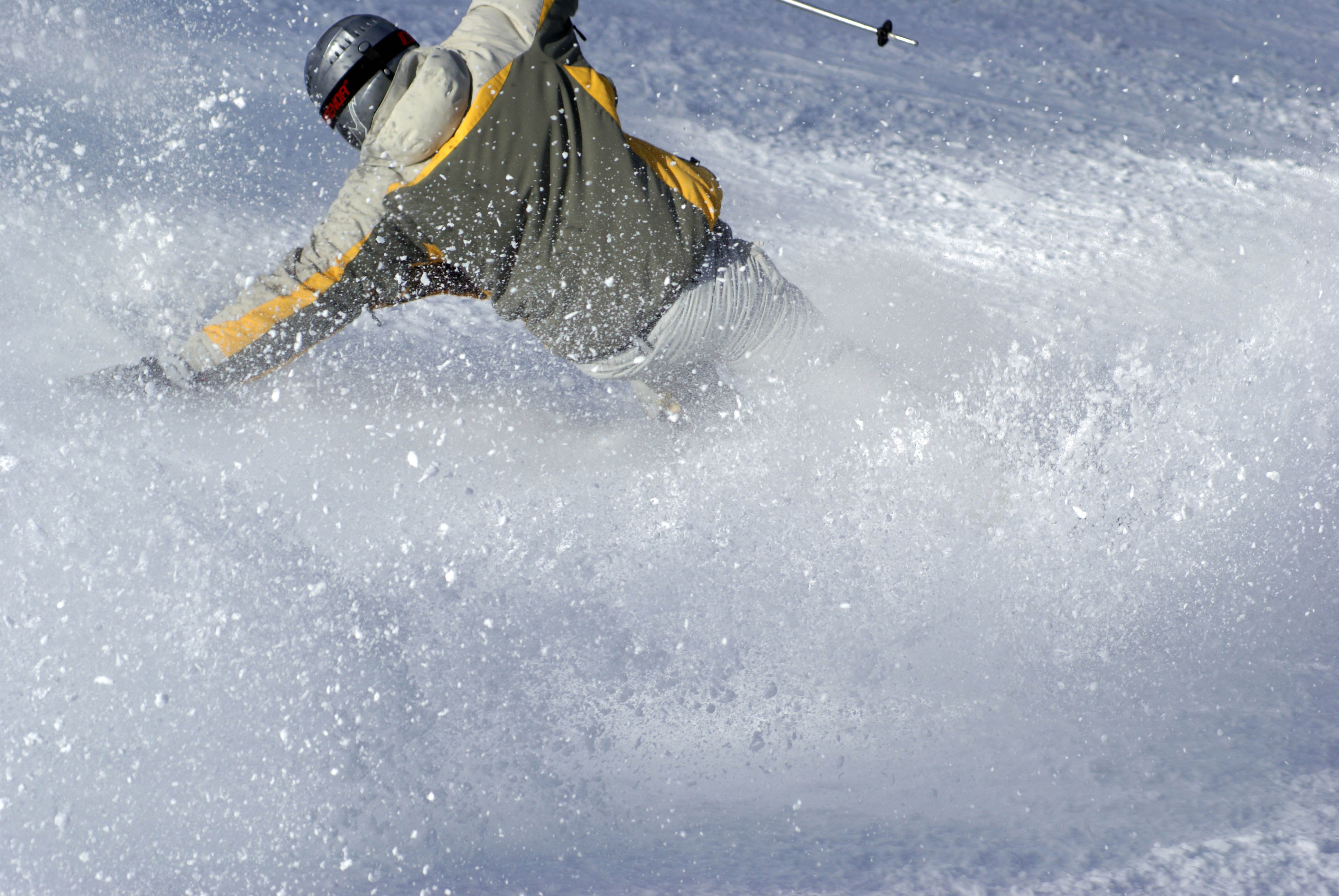 OC wywrotka na nartach